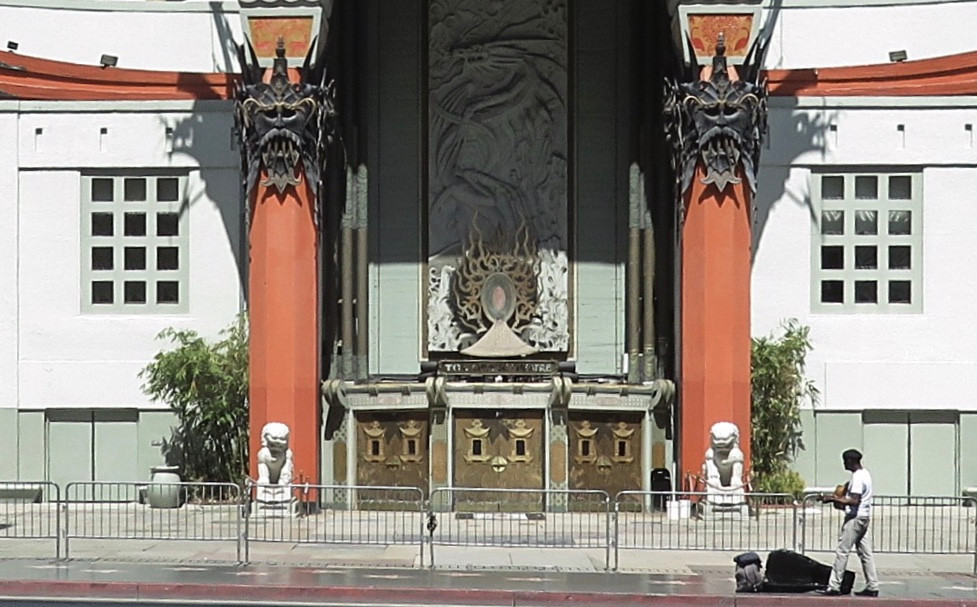 chinese theatre hollywood covid-19 musician