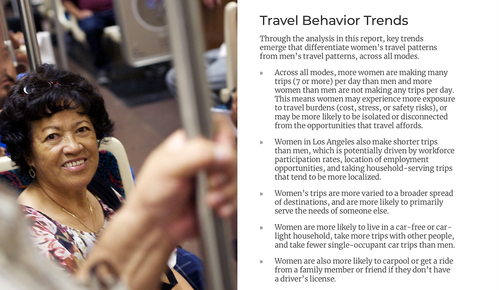 how women travel
