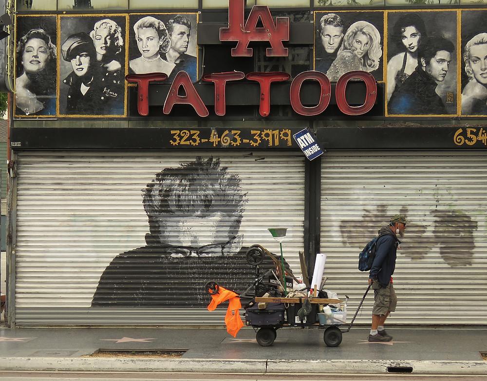 james dean la tattoo hollywood blvd