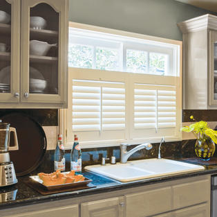 Cafe Style Kitchen Shutters