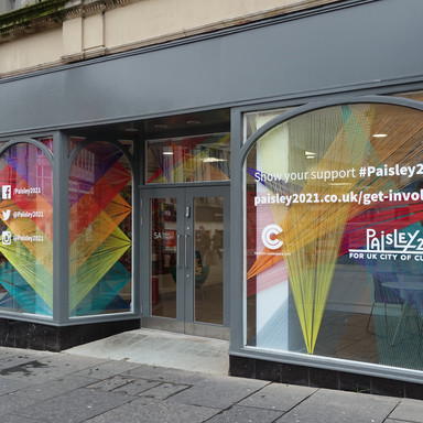 Paisley 2021 Shop Front and Interior