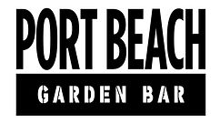 VENUE SPONSOR Port Beach Garden Bar Logo