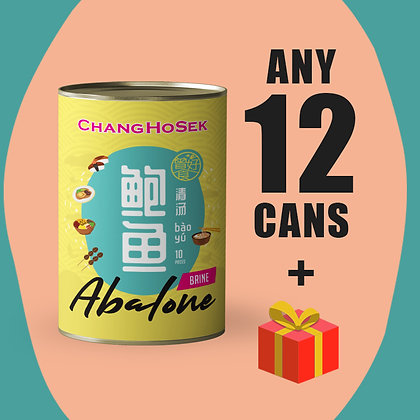 12-cans Abalone Set