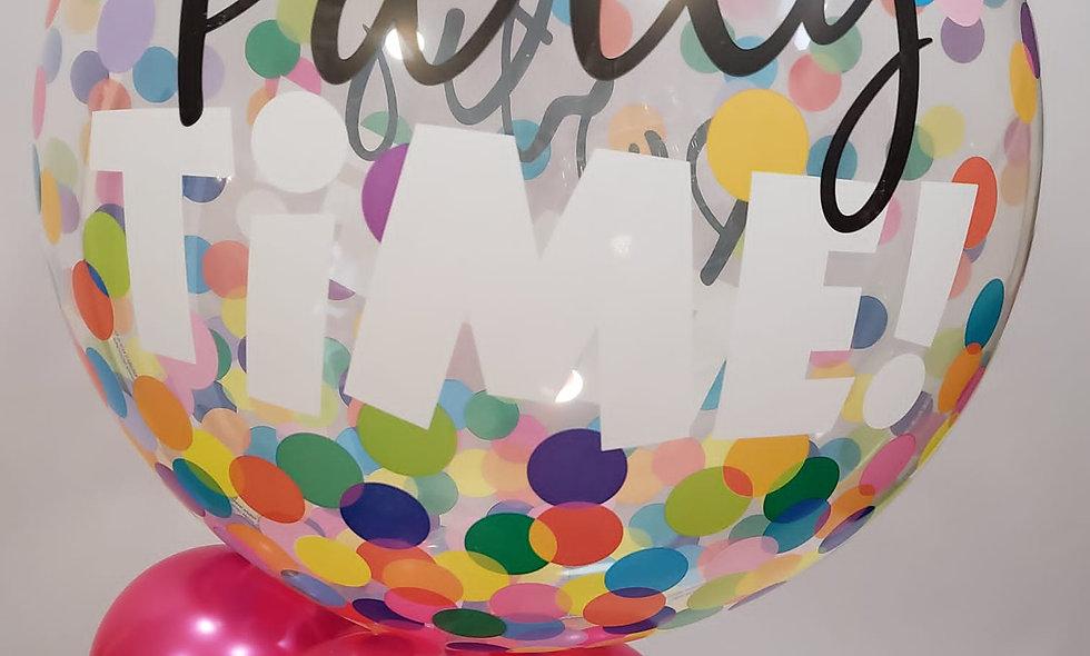 Bubble balloon with minis
