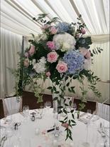 Tall Funnel Vase