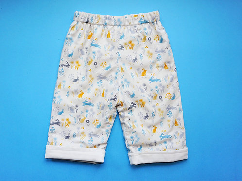 Unisex Woodland Animals Reversible Pants