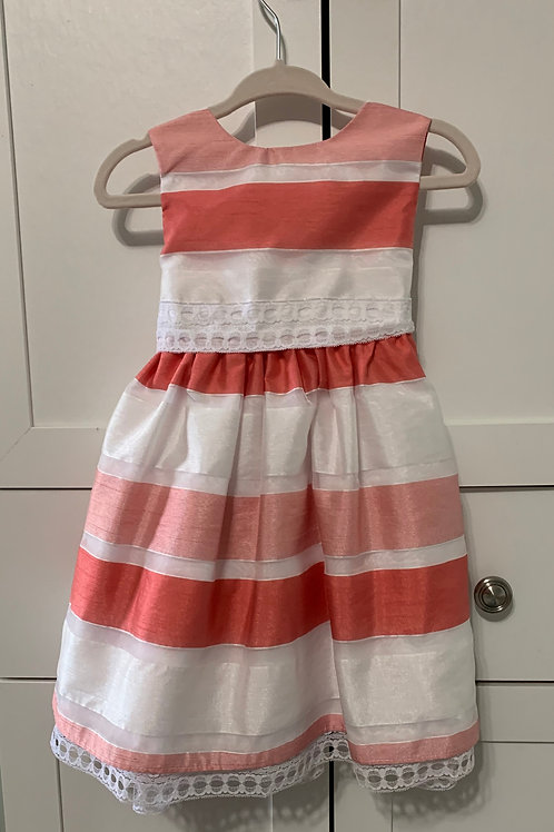 Girls Sleeveless Upstyled Summer Weight Dress
