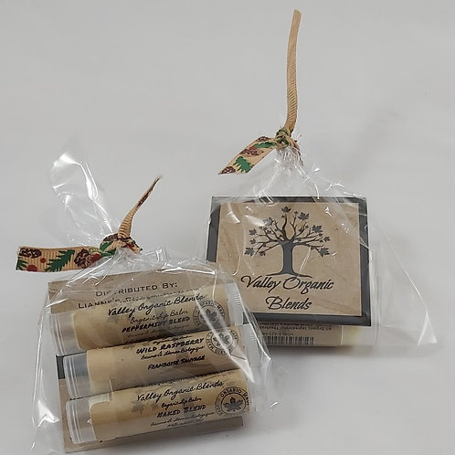 3 PACK ASSORTED LIP BALM