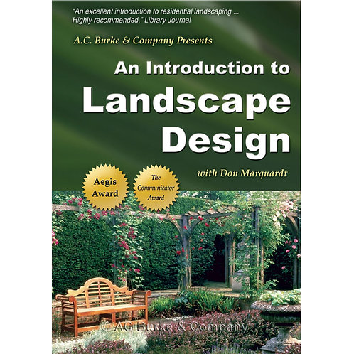 An Introduction to Landscape Design DVD