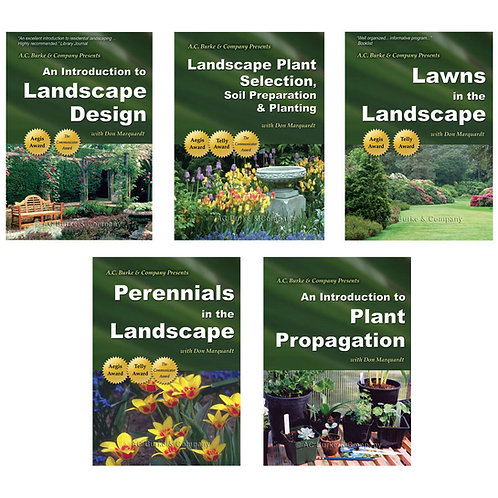 Complete Landscaping Series on DVD