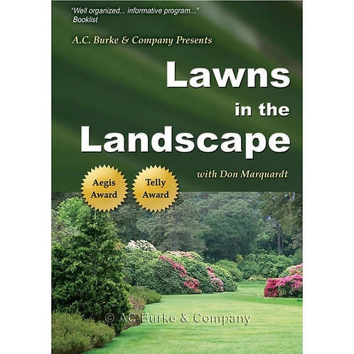 Lawns in the Landscape DVD