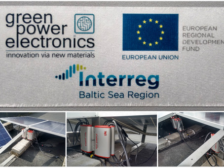 New test-site up for the Interreg GreenPE Project at the University of Tartu