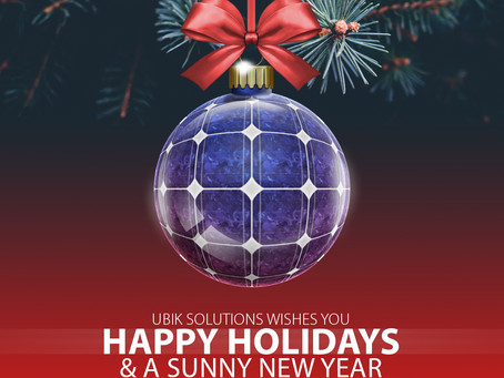 Happy holidays and sunny new year!