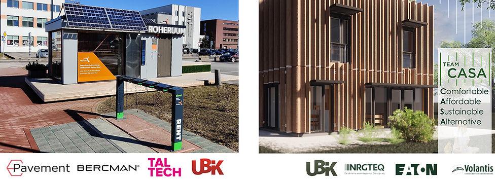 UBIK partner of Team CASA NRGTEQ Bercman E-pavement TalTech