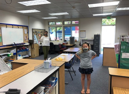 Back to school, again: La Jolla elementary schools reopen to small groups of students