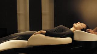 当店のシャンプー椅子は最新式のフルフラットです☆