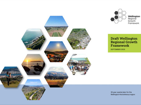 Make a Submission on the Wellington Growth Regional Framework (WGRF)