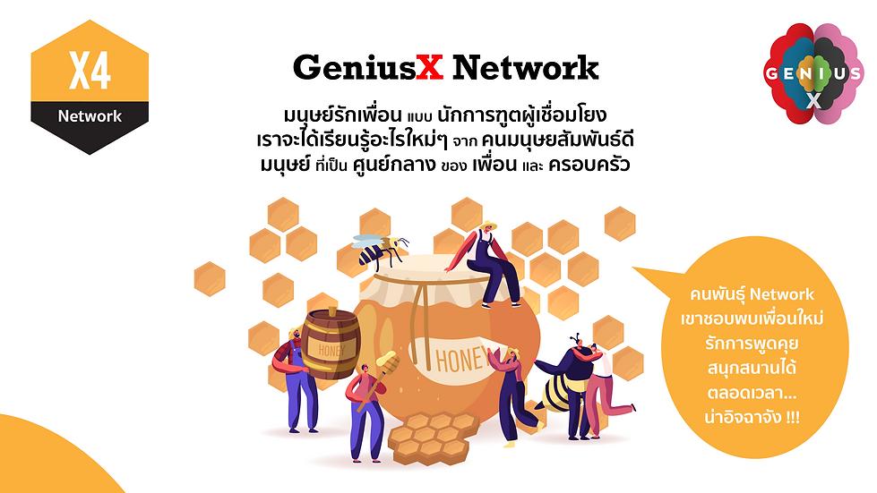 X4 GeniusX Network.png
