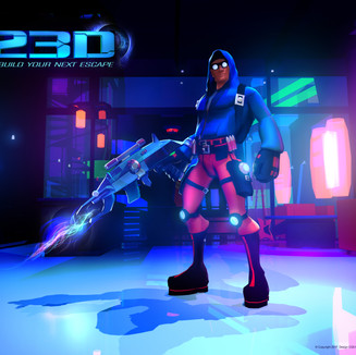 23D Video Game