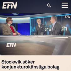 191004 Intervju i EFN (video)