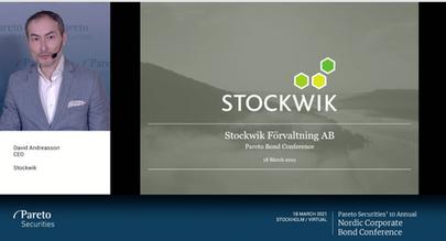 210318 Presentation från Pareto Securities' Nordic Corporate Bond Conference (Video)