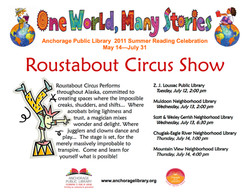 2011 Anchorage Library Shows