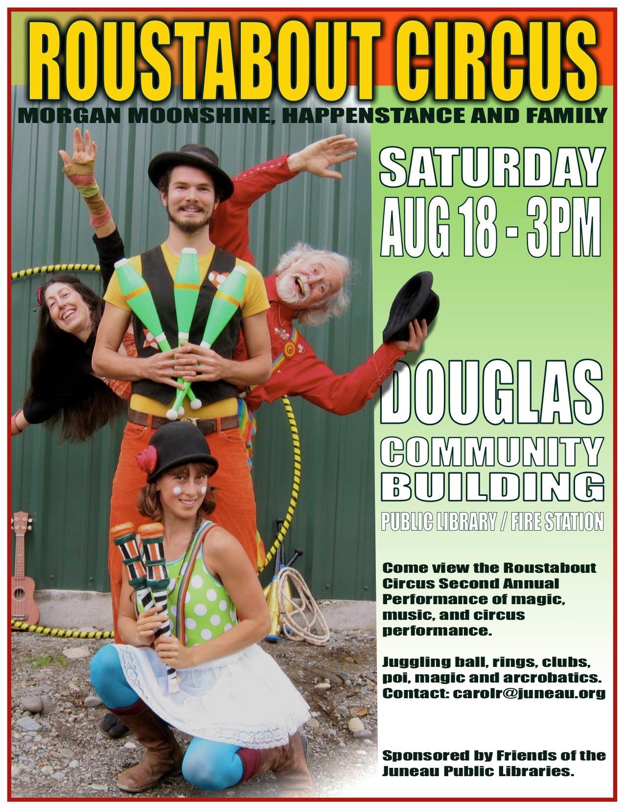 Juneau Show Poster