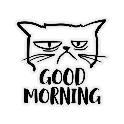 """Good Morning"" Kiss-Cut Stickers"