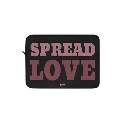 """Spread Love - Red/Pink"" Laptop Sleeve"