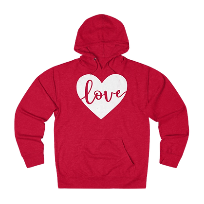 """""""Hearts & Love"""" French Terry Hoodie"""