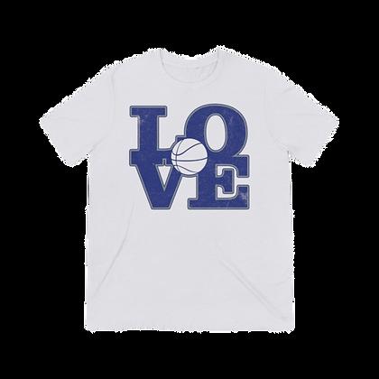 """Basketball Love - Tigers"" Tri-blend Tee"
