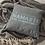 """Thumbnail: """"Namaste in Memphis"""" Spun Polyester Square Pillow"""