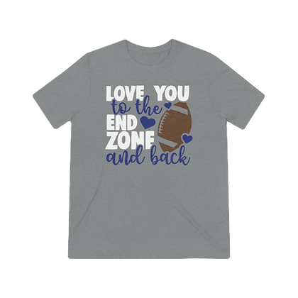 """""""To the End Zone"""" Tri-blend Tee"""