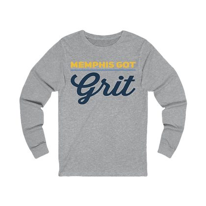 """Memphis Got Grit"" Long Sleeve Tee"