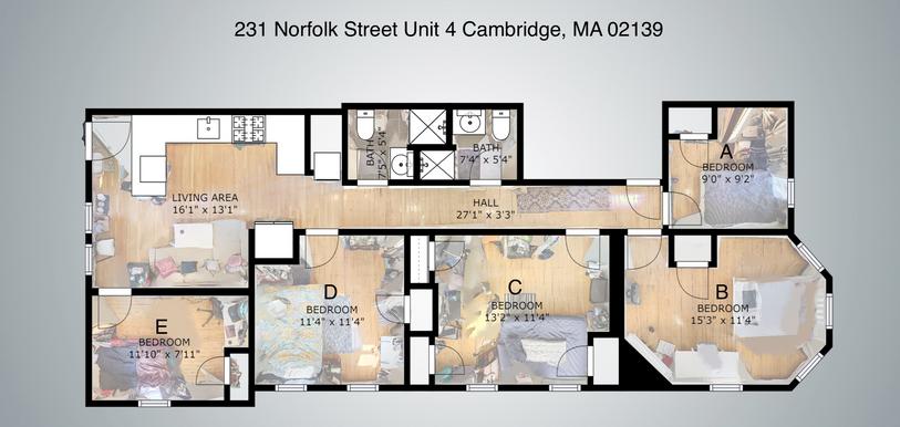 231 Norfolk Unit 4 Layout