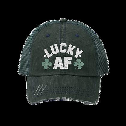 """Lucky AF"" Trucker Hat"