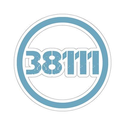 """""""38111"""" Kiss-Cut Sticker"""