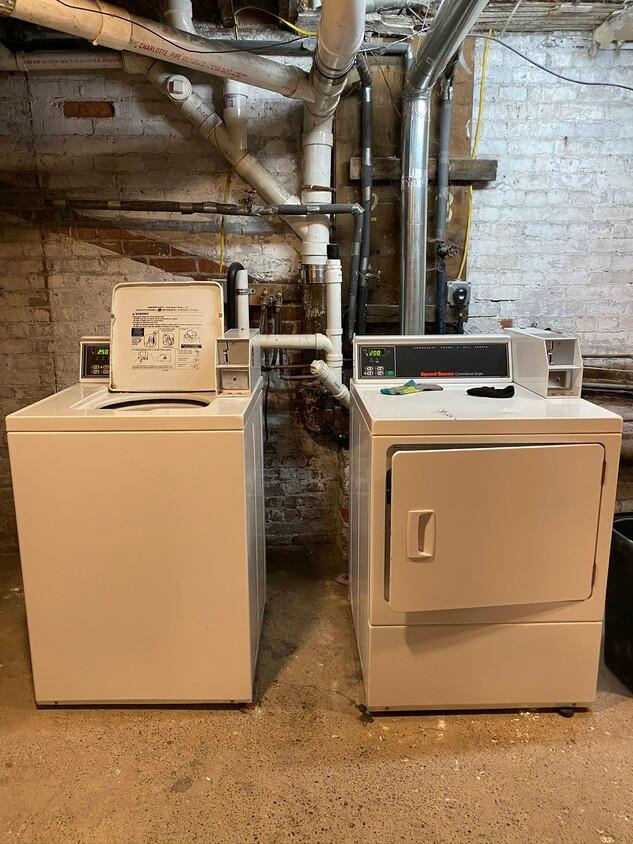 Shared Basement Laundry