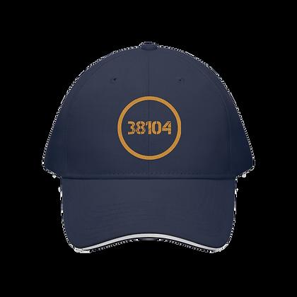 """38104"" Sandwich Brim Baseball Cap"