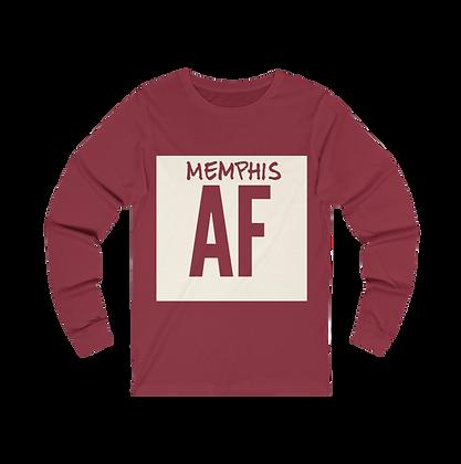 """""""Memphis AF"""" Long Sleeve Tee"""