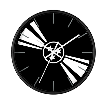 """Tri-Star Vinyl"" Wall clock"