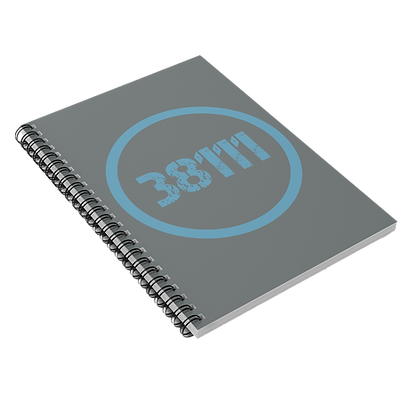 """38111"" Spiral Notebook - Ruled Line"
