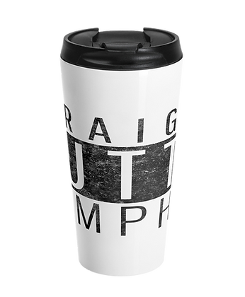 """Straight Outta Memphis"" Stainless Steel Travel Mug"