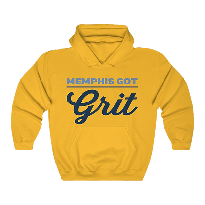 """Memphis Got Grit"" Heavy Blend Hoodie"