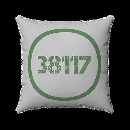 """38117"" Spun Polyester Square Pillow"