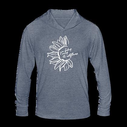 """""""Wildflowers"""" Tri-Blend Hoodie Shirt"""