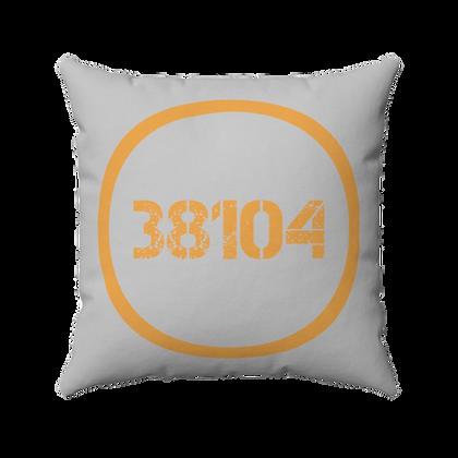 """38104"" Spun Polyester Square Pillow"