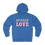 "Thumbnail: ""Spread Love"" French Terry Hoodie"