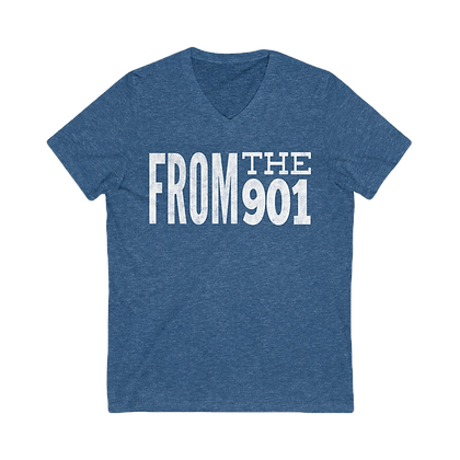 """From the 901"" V-Neck Tee"