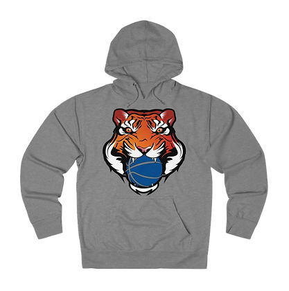 """""""Go Tigers - Basketball"""" French Terry Hoodie"""